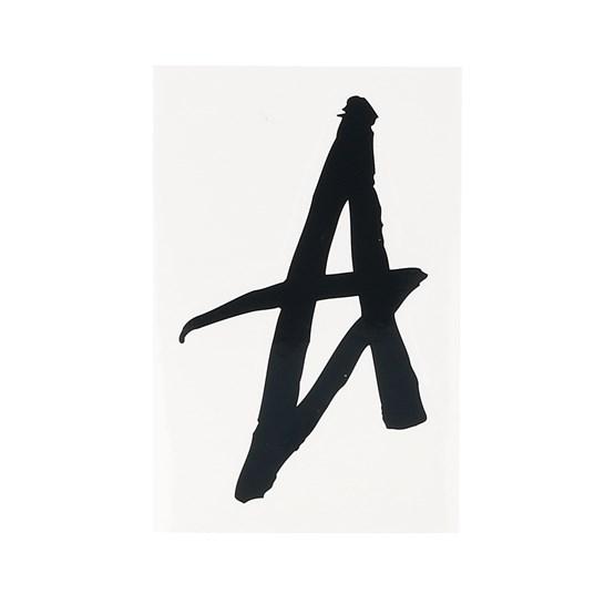 Accessoarer Sticker Singel A Graffiti 15,5x8 CM Black/White - Altamont - Svart