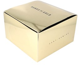 Gift Box 12x20 CM Gold - Hands Of Gold