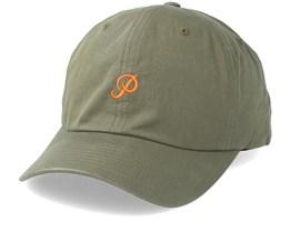 Mini Classic P Dad Hat Olive Adjustable - Primitive Apparel