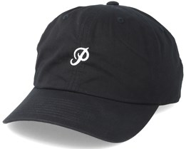 Mini Classic P Dad Hat Black Adjustable - Primitive Apparel