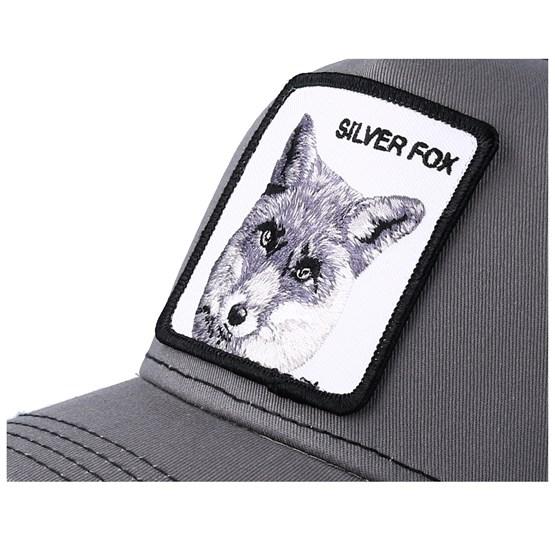 Silver Fox Grey Trucker - Goorin Bros. caps - Hatstoreworld.com c7912859b38
