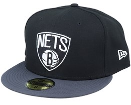 Brooklyn Nets 59Fifty Basic Black Fitted - New Era