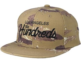 Team Camo Camo Snapback - The Hundreds