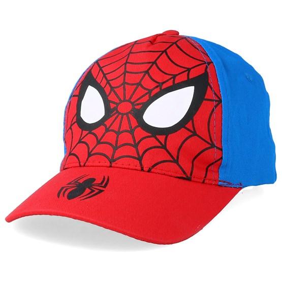 Keps Kids Peak Spiderman Red/Blue Adjustable - Character - Röd Barnkeps