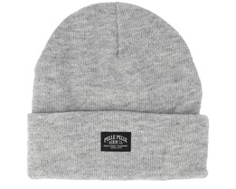 Core Heather Grey Beanie - Pelle Pelle
