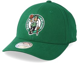 Boston Celtics Team Arch Low Pro Green 110 Adjustable - Mitchell & Ness