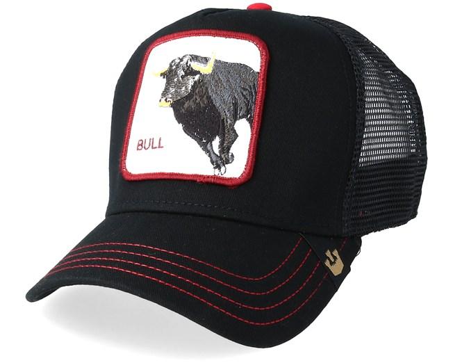 Bull Honky Black Trucker - Goorin Bros. caps - Hatstore.ae 845c69bf32f