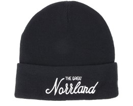 Great Norrland Black Beanie - Sqrtn