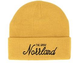 Great Norrland Mustard Beanie - Sqrtn