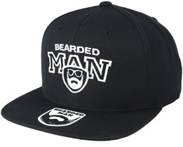 Team BM Black Snapback - Bearded Man