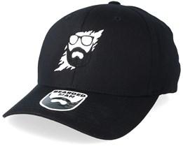 Scratch Black Flexfit - Bearded Man