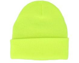 Kids Junior Original Fluorescent Yellow Cuff - Beanie Basic