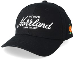 Kids Great Norrland Hooked Black Adjustable - SQRTN