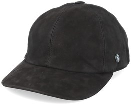 Dad Cap Leather Black Adjustable - City Sport
