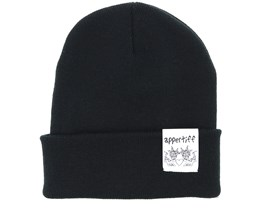 Hightop Black One Beanie - Appertiff
