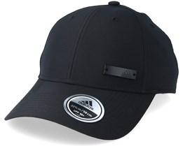 Mens Metal Badge Black Adjustable - Adidas