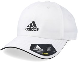 Mens Golf Cap White Adjustable - Adidas