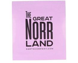 Sticker Norrland 11x12 Pink - Sqrtn