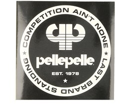 Sticker Competition 10x10 Black - Pelle Pelle