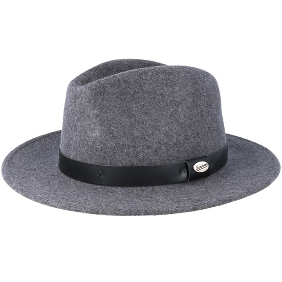 Hatt Grey Fedora - City Sport - Grå Fedora