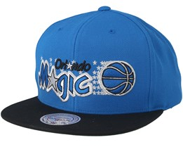 Orlando Magic 2 Tone Blue/Black Snapback - Mitchell & Ness
