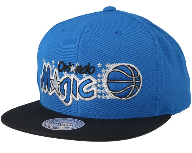 online store 6017f 1d707 Orlando Magic 2 Tone Blue Black Snapback - Mitchell   Ness caps -  Hatstorecanada.com