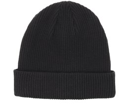 Short Fisherman Black Beanie - Equip
