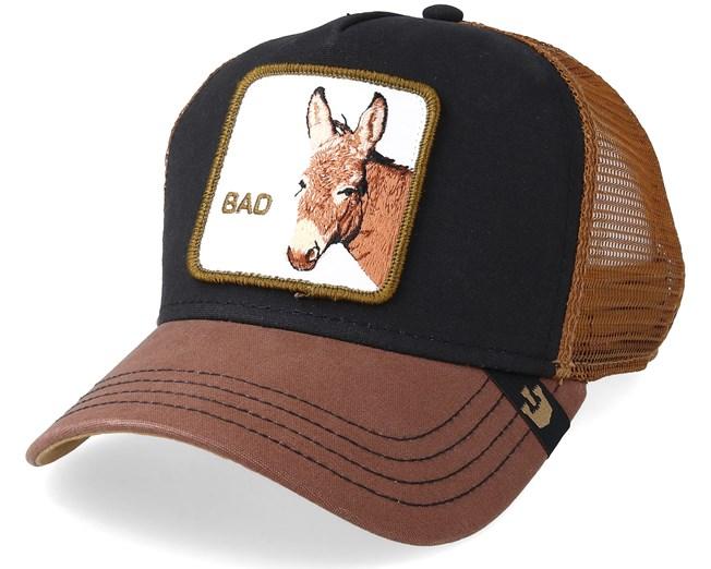 4d80972b Bad Ass Trucker Black/Brown Trucker - Goorin Bros. - Start Gorra - Hatstore