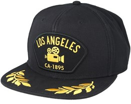Los Angeles Black Snapback - Goorin Bros.
