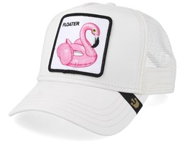Floater White Trucker - Goorin Bros.