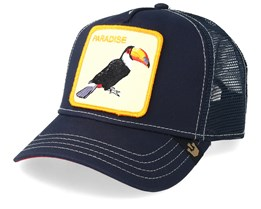 Take Me To Paradise Navy Trucker - Goorin Bros.