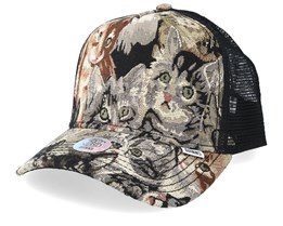 Wlu Cat 2/Black Trucker - Djinns
