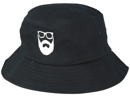 Logo Black Bucket - Bearded Man