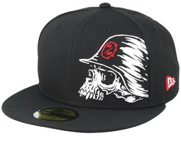 Case 59Fifty Black Fitted - Metal Mulisha