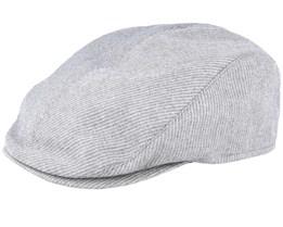 Lukas Grey Flat Cap - Mayser