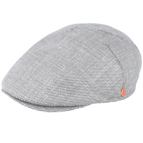 Keps Simon Grey Flat Cap - Mayser - Grå Flat Caps