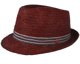 Samu Brown Straw Hat - Mayser