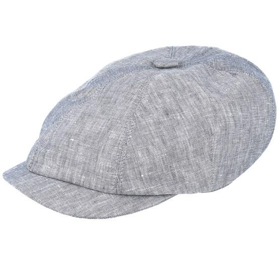 Keps Seven Big Grey Flat Cap - Mayser - Grå Flat Caps
