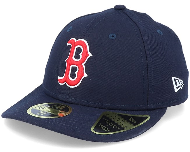 Boston Red Sox Low Profile 59Fifty Navy Fitted - New Era