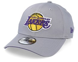 LA Lakers Team 39Thirty Light Grey Fitted - New Era