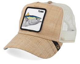 Big Fish Natural Straw/White Trucker - Goorin Bros.