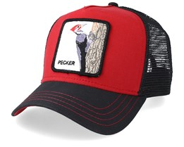 Woody Wood Red/Black Trucker - Goorin Bros.