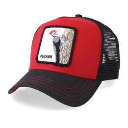 1ef3d923 Goorin Bros. Woody Wood Red/Black Trucker - Goorin Bros. £29.99