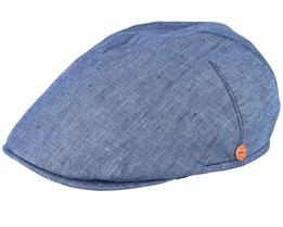 Sidney Blue Flat Cap - Mayser