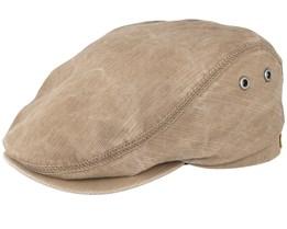 Frankie Khaki Flat Cap - Mayser
