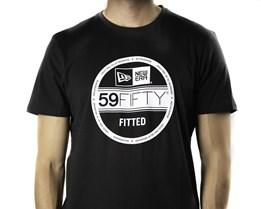 Essential Visor Sticker Tee Black T-Shirt - New Era