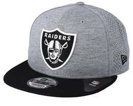 100% authentic 9dfc3 b3923 Oakland Raiders Shadow Tech 9Fifty Grey Black Snapback - New Era