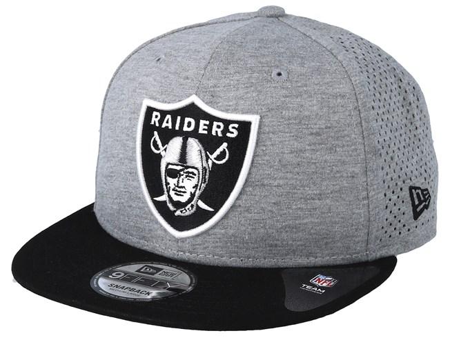 11615387 Oakland Raiders Shadow Tech 9Fifty Grey/Black Snapback - New Era ...