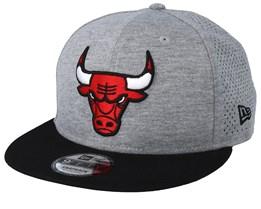 Chicago Bulls Shadow Tech 9Fifty Grey/Black Snapback - New Era