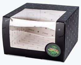Turtles Gift Box Black - Capslab